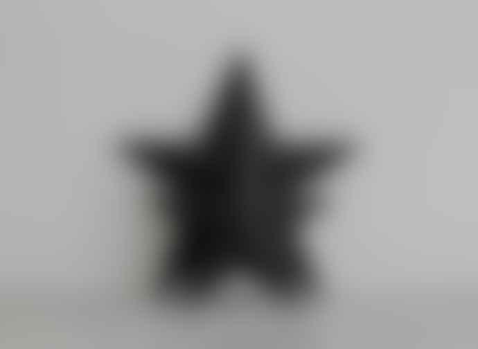 Freight HHG Two Small Black Basalt Star