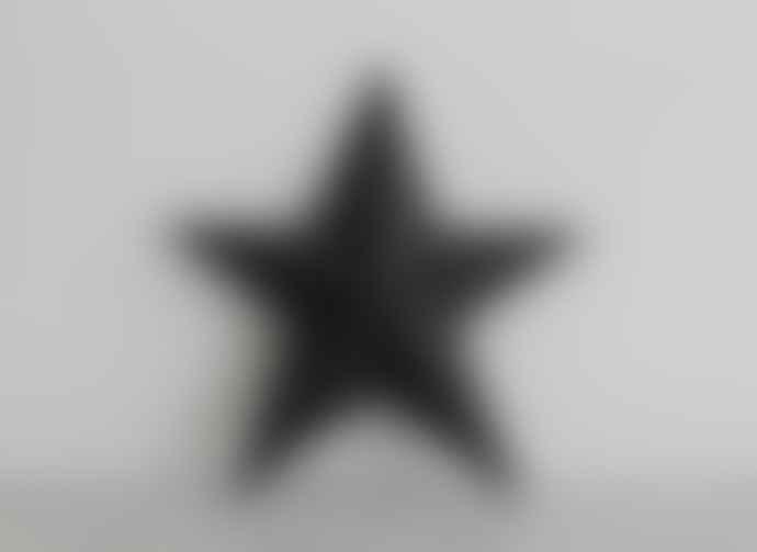 Freight HHG Large Black Basalt Star