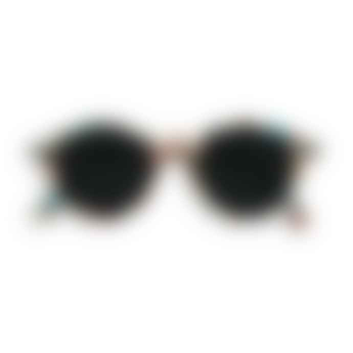IZIPIZI Tortoise Blue Shape D Sunglasses