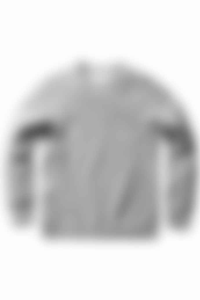 Reigning Champ Ice Side Zip Crew Neck Sweater