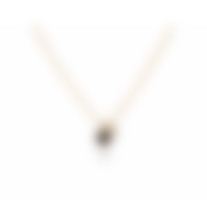 Maya Magal Gold Double Stone Charm Necklace