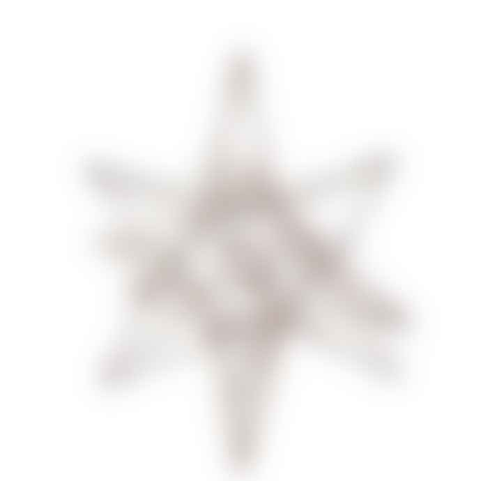 Coach House Small Copper Glitter 3 D Star