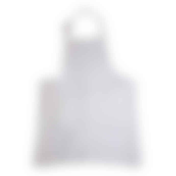 Pure White Washed Linen Apron