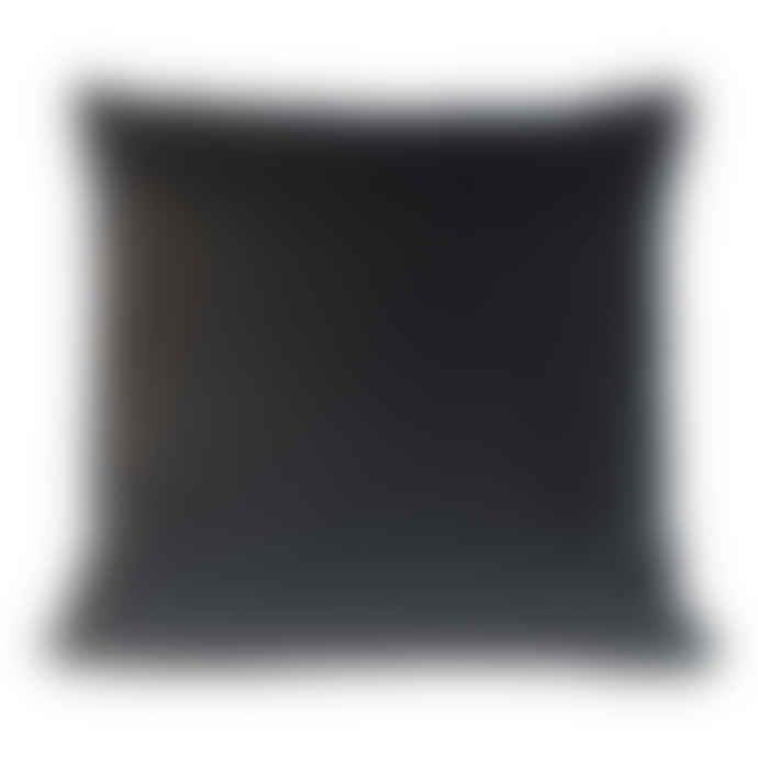 Charcoal Velvet Cushion