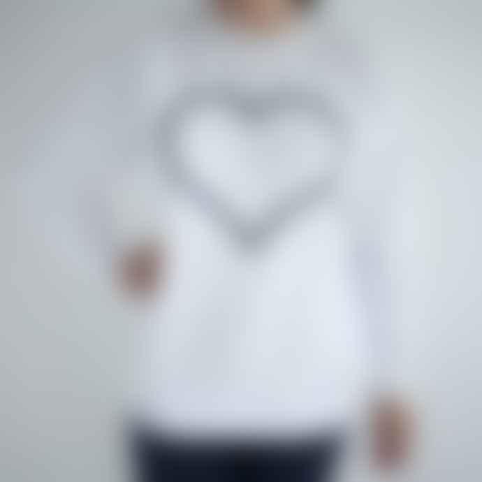On The Rise Navy Heart Sweatshirt
