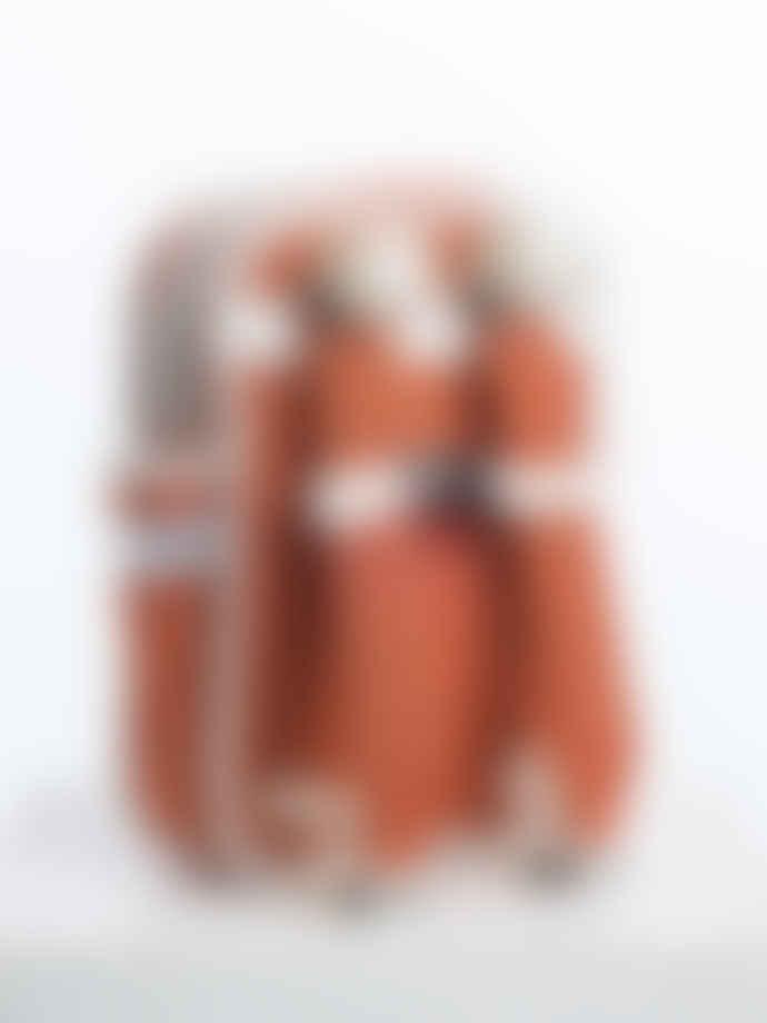 Goodordering Orange Mini Kids Backpack