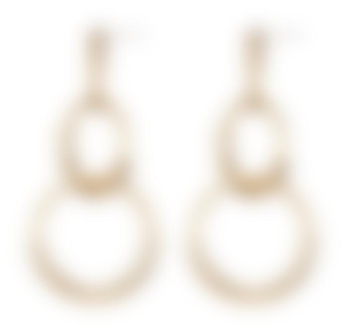 Jenny Bird Gold Ossie Earrings