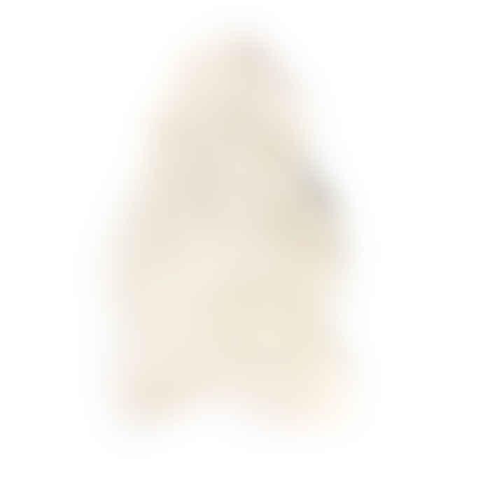 The Organic Sheep Company Short Hair Natural White Icelandic Sheepskin Throw