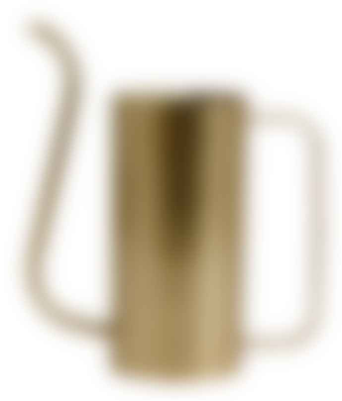Nordal Brass Water Pitcher