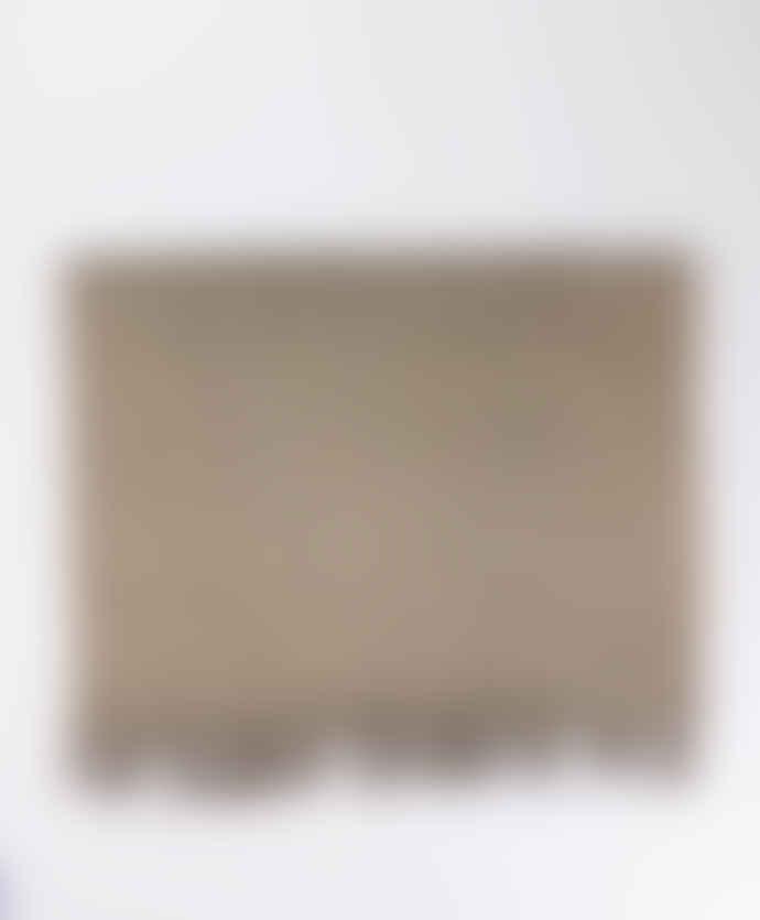 Indigo & Wills Natural Black Fine Striped Cashmere Scarf