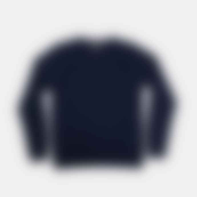 Colorful Standard Navy Blue Classic Crew Neck Sweater