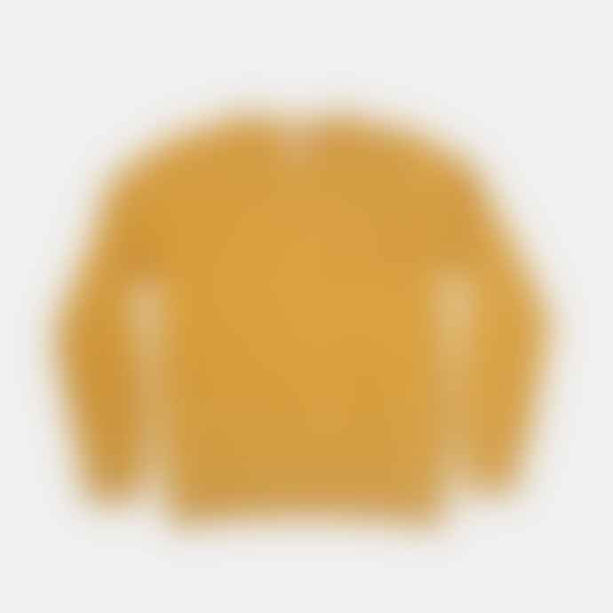 Colorful Standard Burned Yellow Classic Crew Neck Sweater