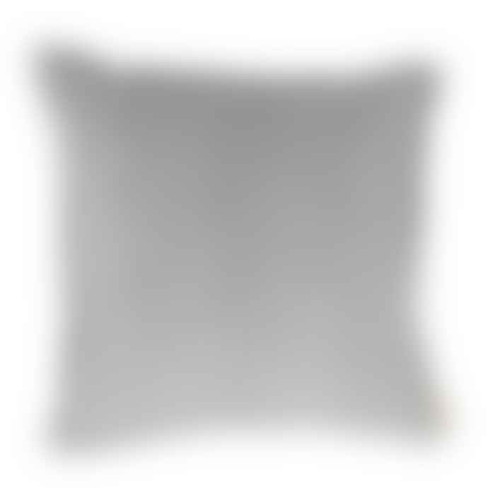 Biggie Best Large Dove Grey Velvet Cushion
