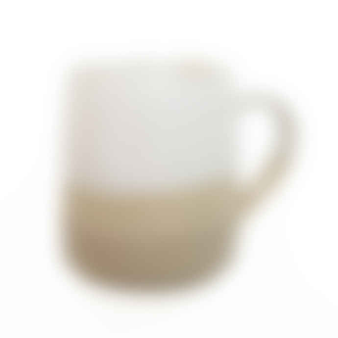 Lucy Rutter Half glazed mug