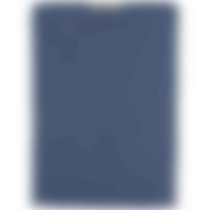 Ib Laursen Blue Cornflower Knitted Cotton Towel