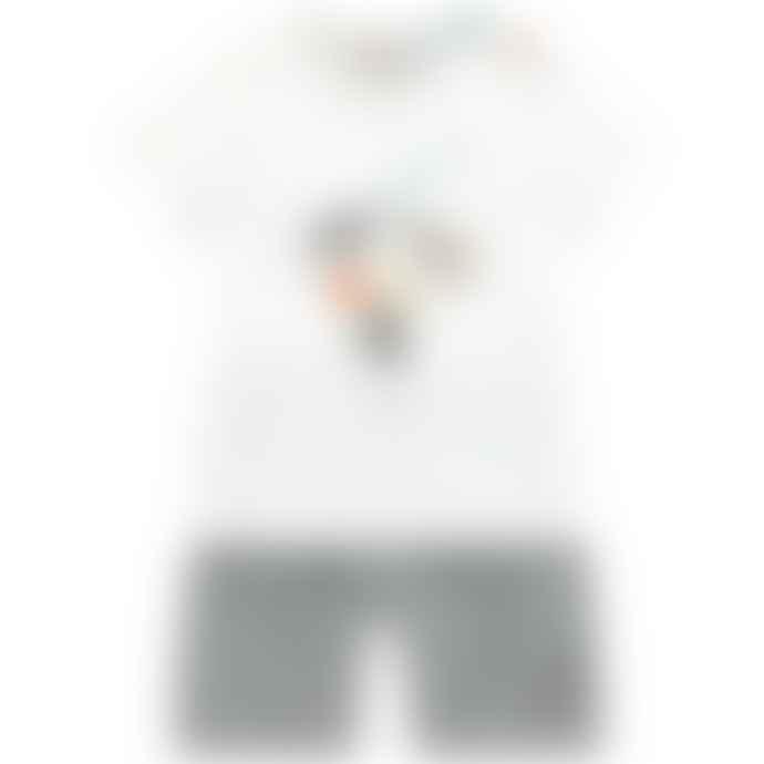 Paul Smith Junior Boys Graphic T Shirt & Shorts