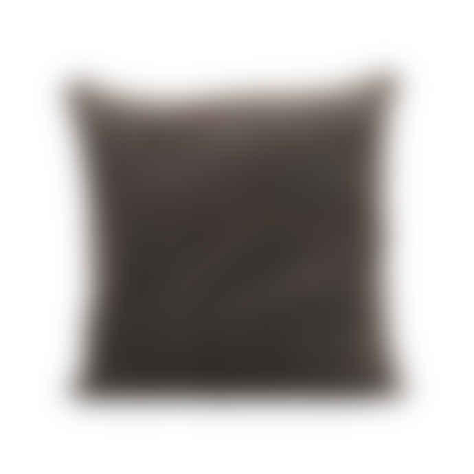 House Doctor Velvet Cushion, Mushroom