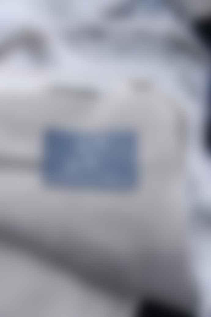 Cotswold Grey Smoke Blue Faux Fur Throw