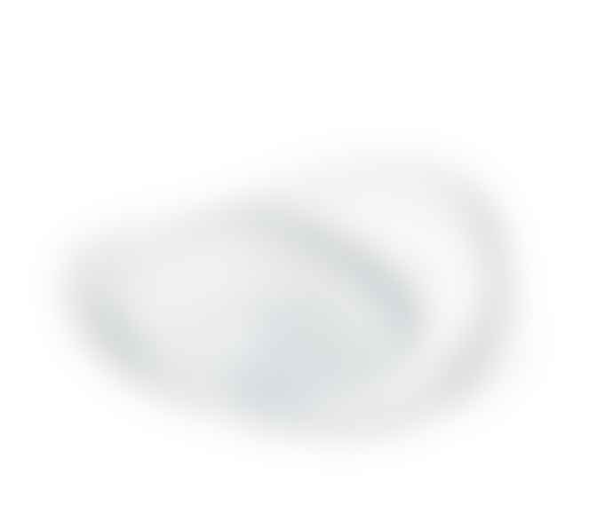 Alessi UK Ltd  White Trinity Fruit Bowl