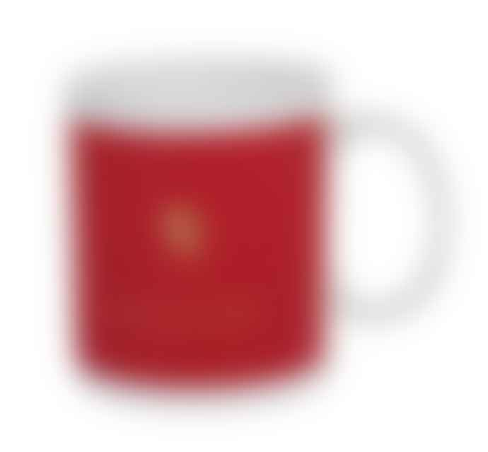 British Colour Standard Union Jack Red Mug