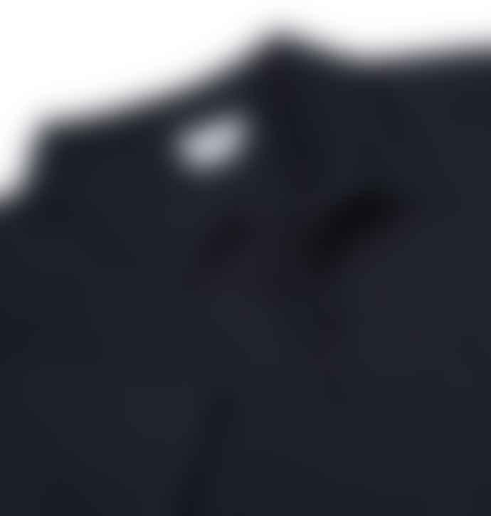 Sunspel Navy Short Sleeve Riviera Polo