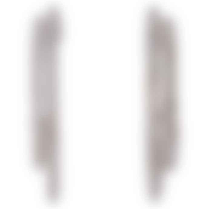 Pilgrim Silver Leah Hoop Earrings