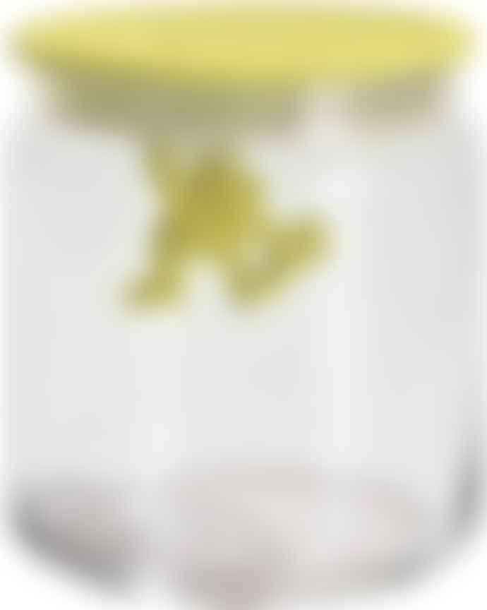 Alessi UK Ltd Gianni Glass Storage Jar 4.75 Inch