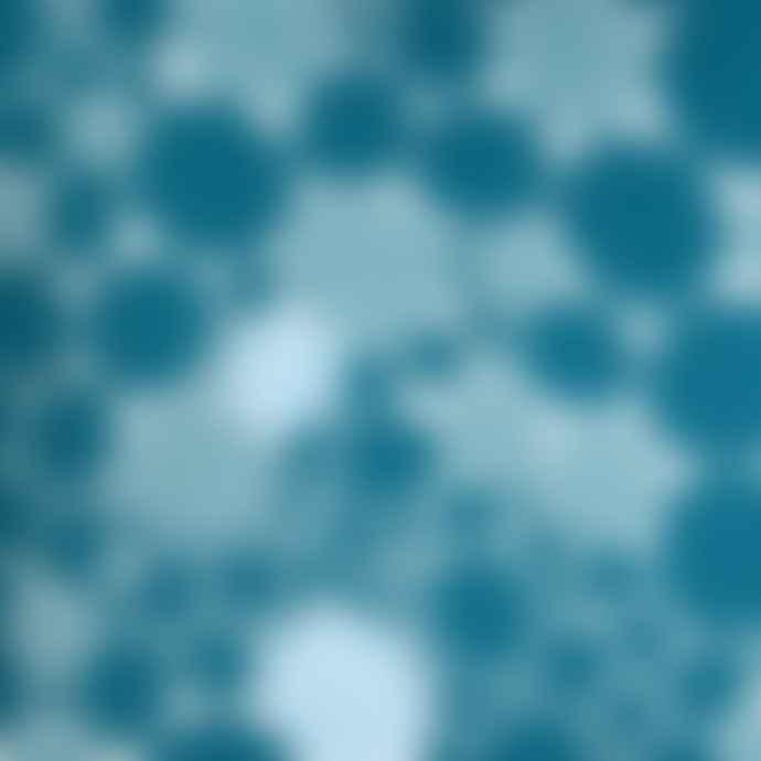 Spira of Sweden Bubbla Blue Cushion