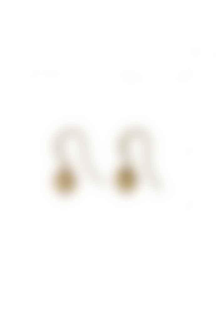 Pilgrim Sophia Gold Plated Heart Hook Earrings