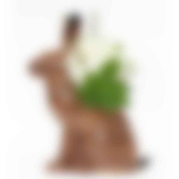 Quail Ceramics Hare Flower Vase