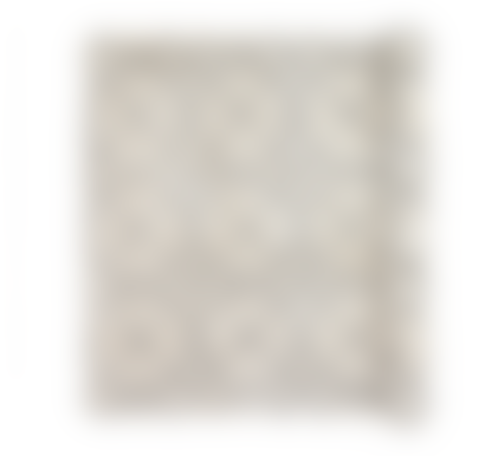 Broste Copenhagen Janson Cotton Pile Geometric Print Rug