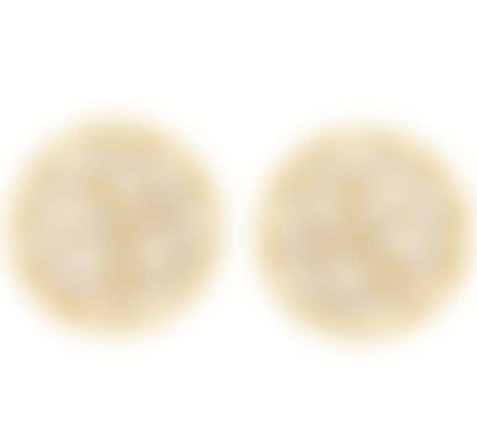 Carousel Jewels  Sliced Crystal Stud Earrings