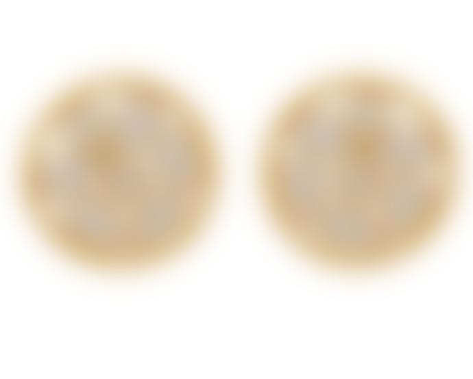 Carousel Jewels  Sliced Crystal Mini Stud Earrings