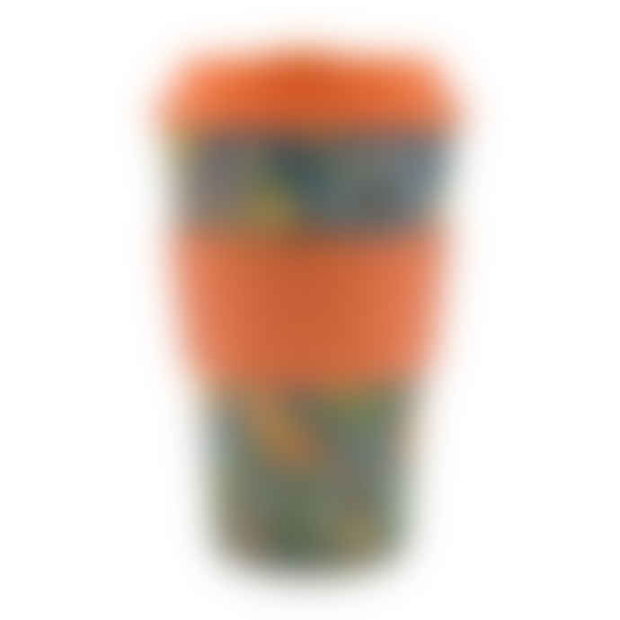 Ecoffee William Morris Thief Reusable Bamboo Coffee Cup 14oz