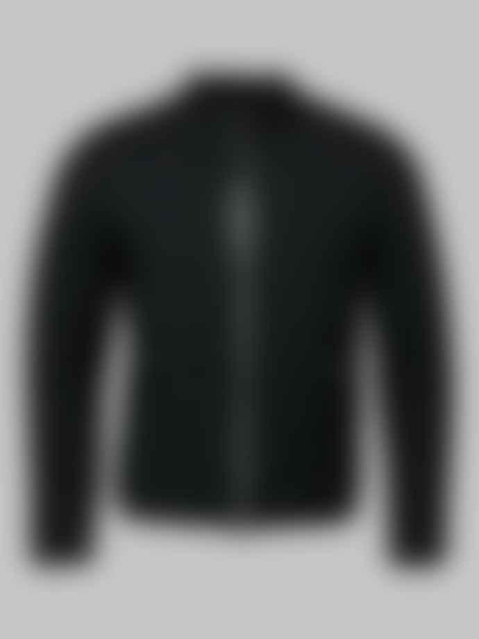 Mackage Black Enric Quilted Bomber Jacket
