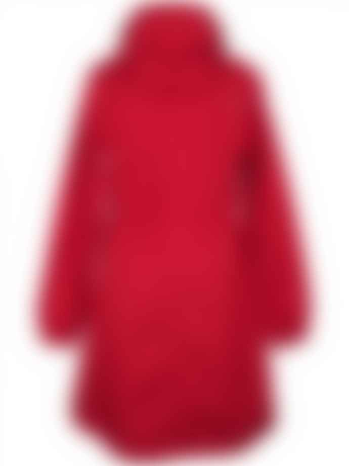 0c32befe7ee Danefae Aalborg Raincoat in Red
