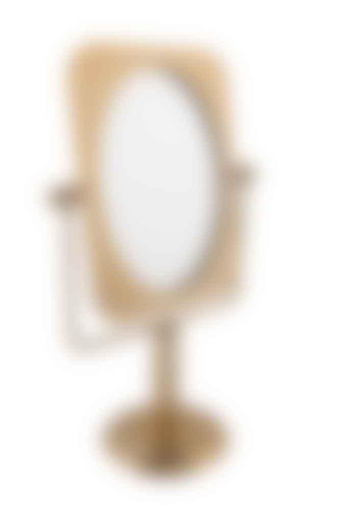 Pris Brass Vanity Mirror
