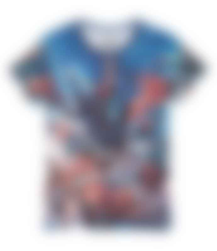 Eleven Paris  Blue Justice League T Shirt