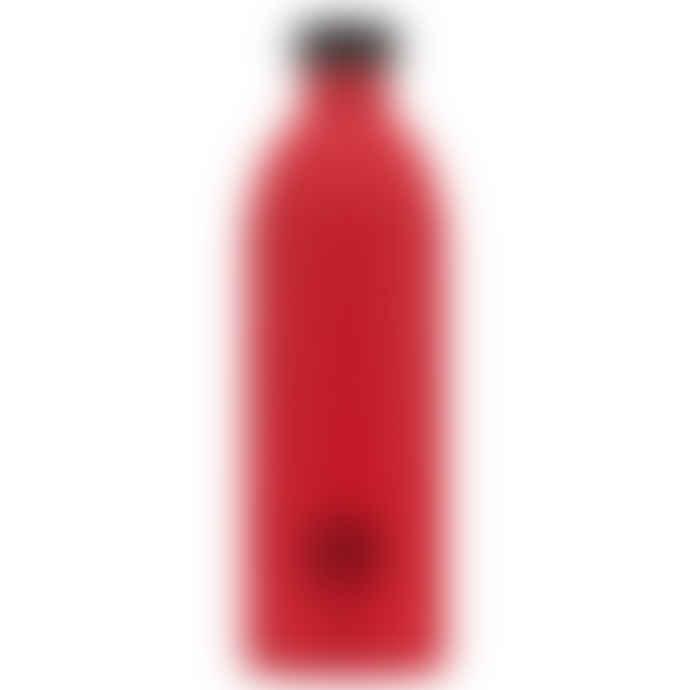 24Bottles 1L Hot Red Urban Bottle