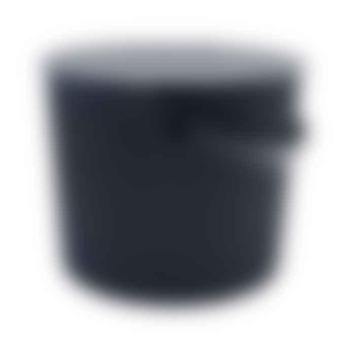 Hachiman Omnioutil Storage Bucket & Lid Small in Black