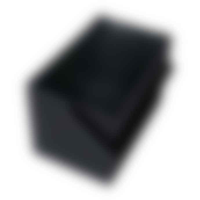 Hachiman Omnioffre Stacking Storage Box Medium in Black