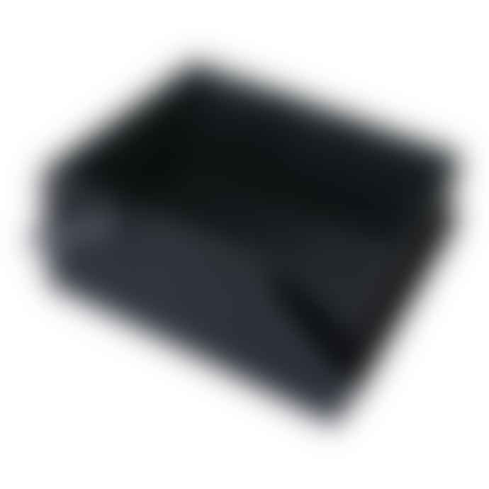 Hachiman Omnioffre Stacking Storage Box Large in Black