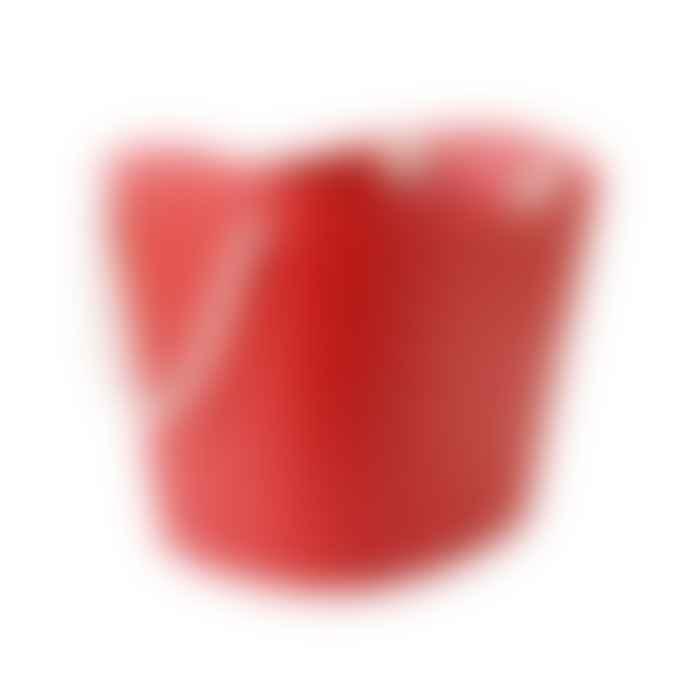 Hachiman Balcolore Laundry Storage Basket Medium in Red