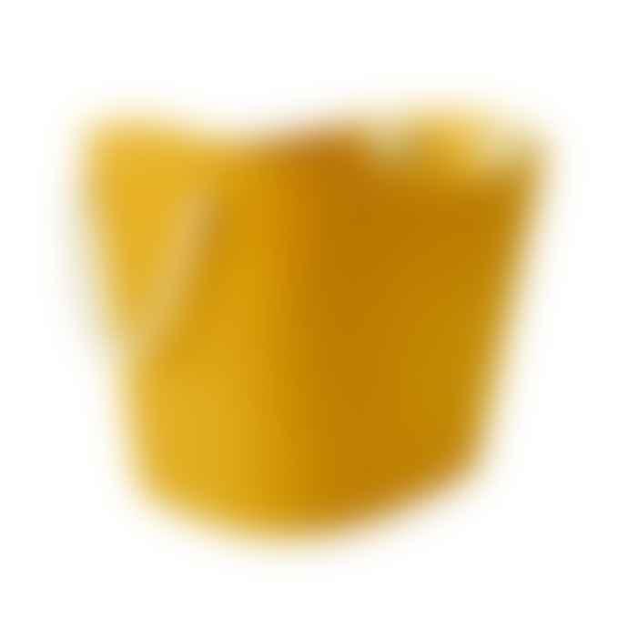 Hachiman Balcolore Laundry Storage Basket Medium in Mustard Yellow