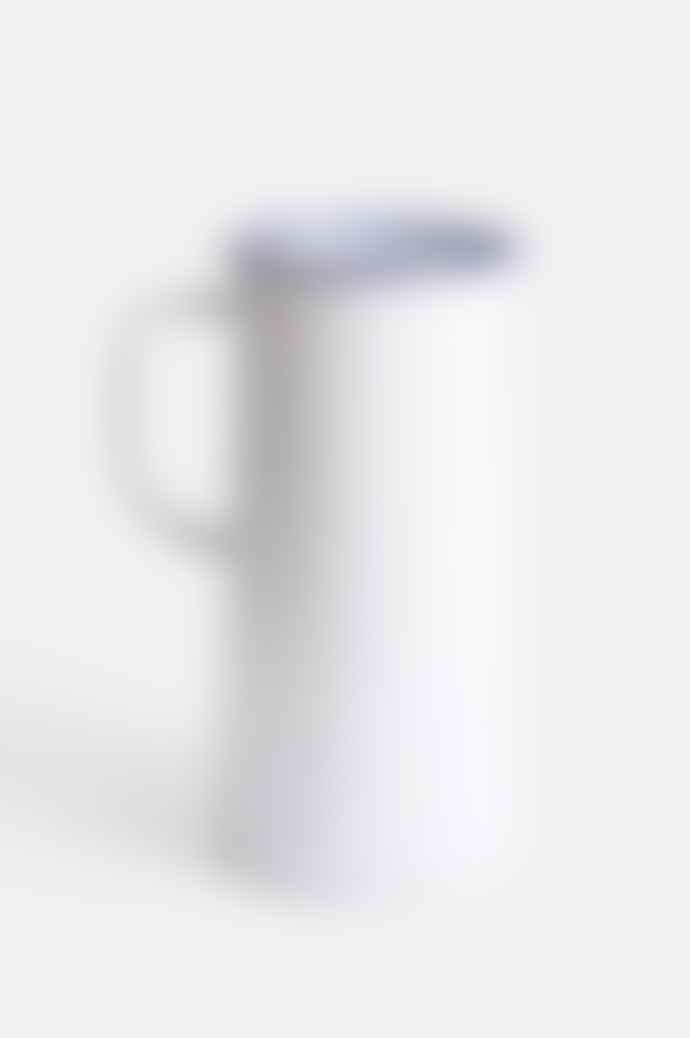 Falcon Enamelware 3 Pint Original White Jug