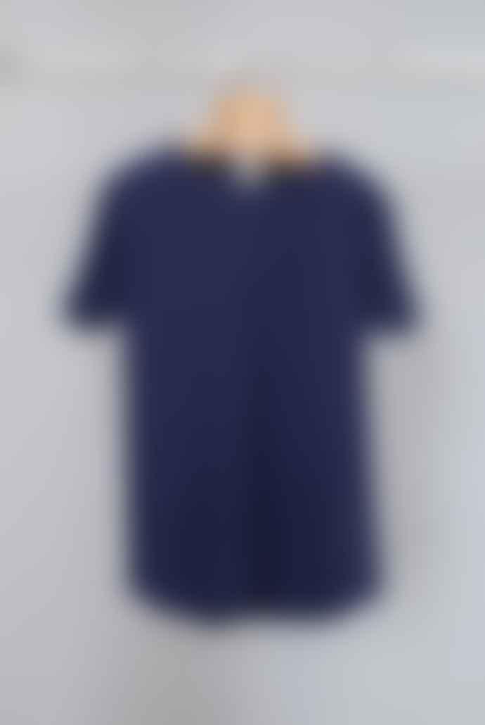 A.D.Deertz Navy Piqué Ironwood T-Shirt