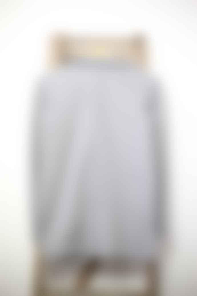 Yerse Grey Plush Jersey Summer Coat