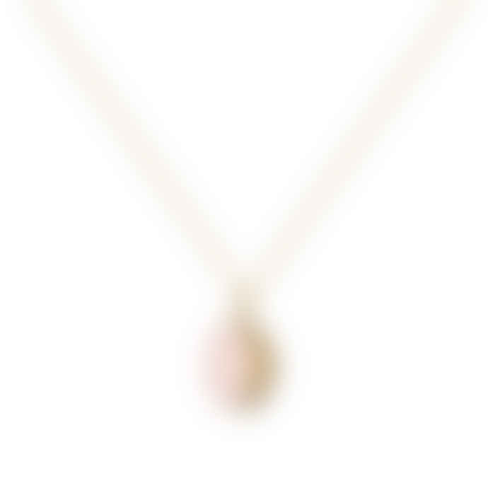 A Mini Penny Pink Locket Necklace