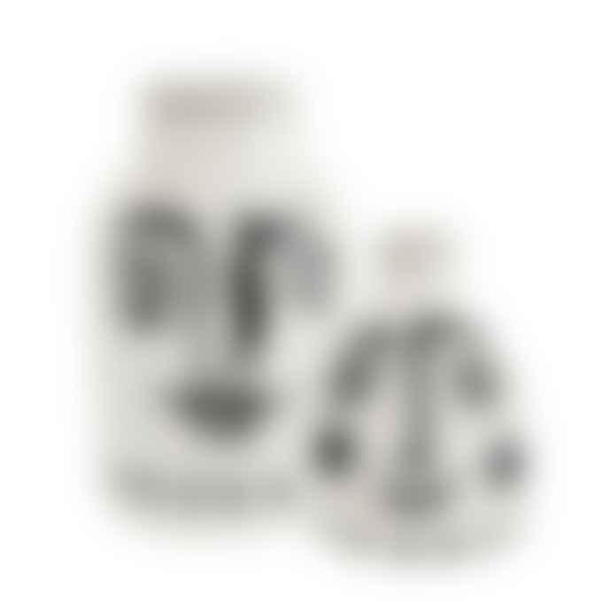 Madam Stoltz Large Painted Face Vase
