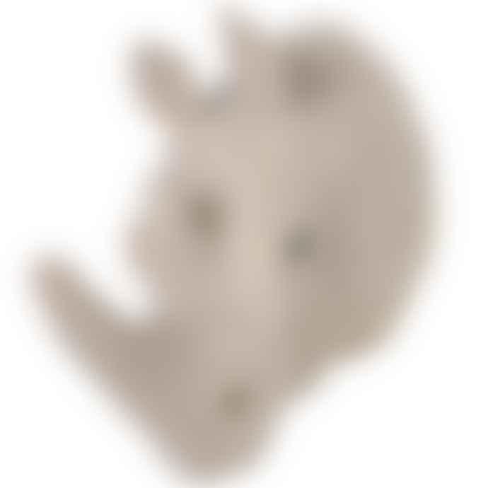 Crochet Small Crochet Rhino Head
